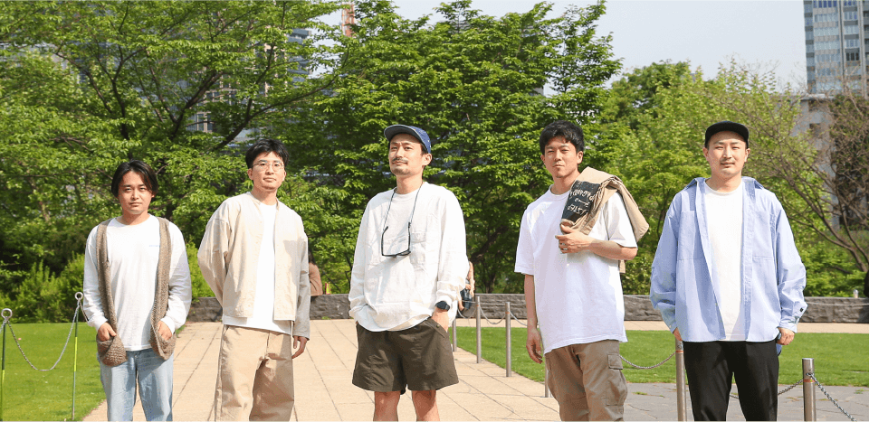 Members group photo Tokyo